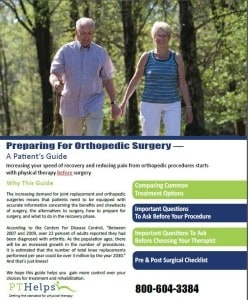 PTRM Pre-Post Surgical Marketing Program