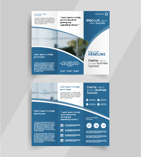 Pocket brochures for physical therapists