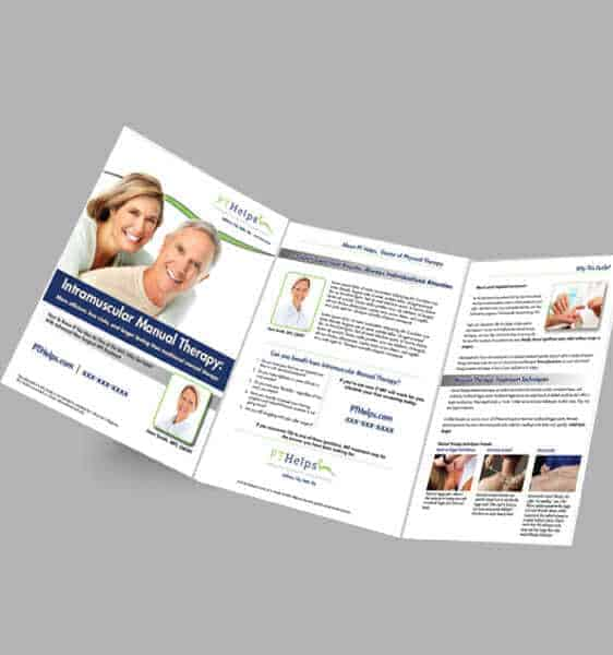 physical therapy brochures - large