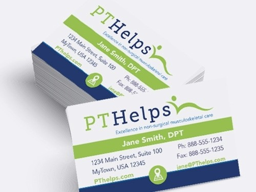 Business Cards For Physical Therapists