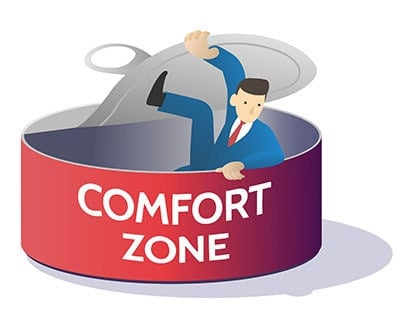 Physical Therapy Marketing Assessment - Step out of your comfort zone illustration