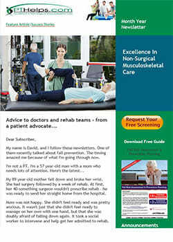 email marketing for physical therapists - sample image