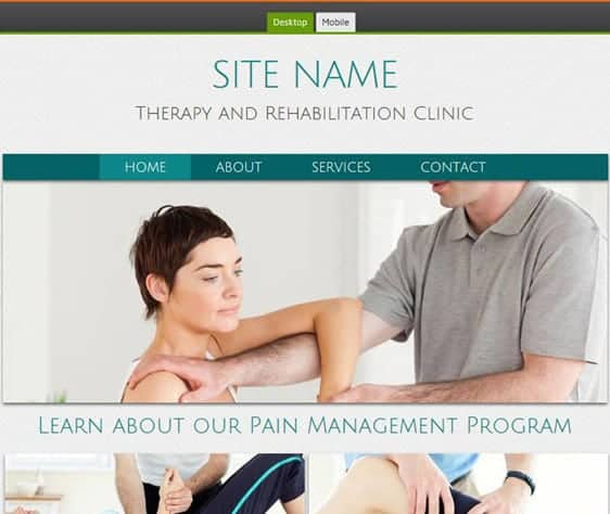 Internal Physical Therapy Marketing page image