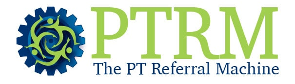 PT Referral Machine – Physical Therapy Marketing Logo