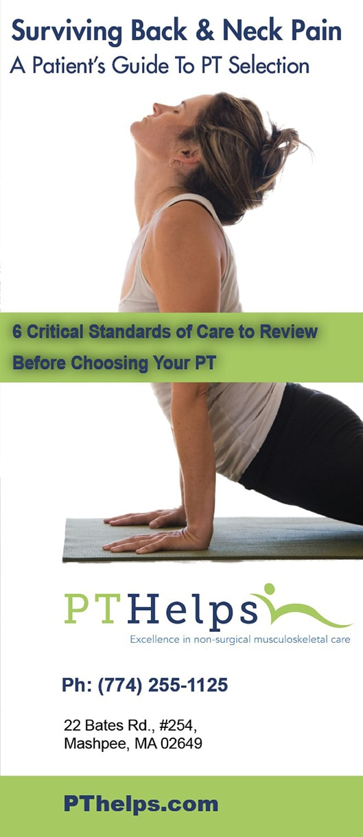 Physical Therapy Brochure - Sales Information